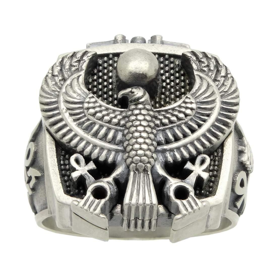 Secretium Rings 925 Silver Ring Egyptian Jewelry